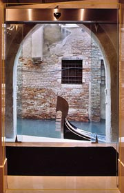 Palace Bonvecchiati Venice - Water Taxi and Gondola Entrance